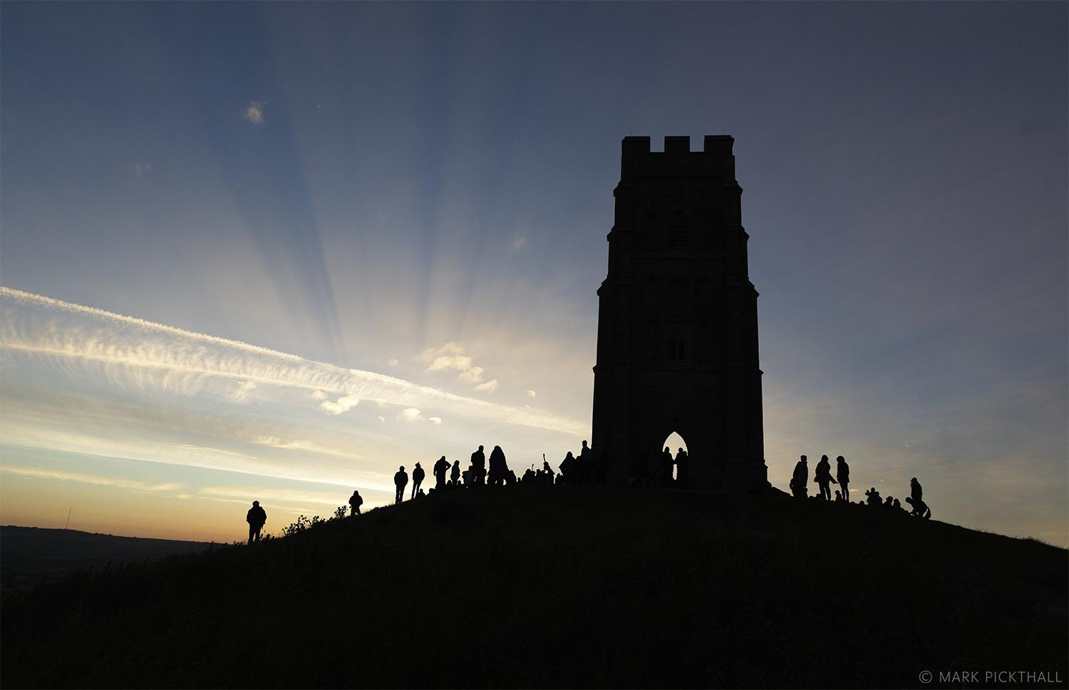 Summer Solstice Glastonbury Tor mythogogy